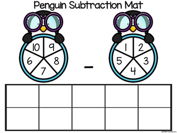 Winter Subtraction Mats