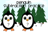 Winter Subtraction Practice
