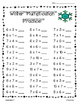 Winter Multiplication Practice Pack!--6 pages!