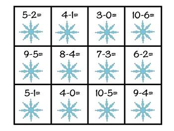 Winter Subtraction Sort
