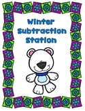 Winter Subtraction Station