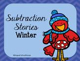 Winter Subtraction Stories