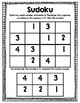 Winter Sudoku Freebie