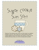 Winter Sugar Cookie Sum Sort: Sums 10, 11 and 12