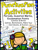 Punctuation Activities: Periods, Question Marks, &  Exclamation Points