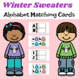 Winter Sweaters Alphabet Matching Cards