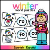 Winter Syllable Center / Centro de Silabas INVIERNO