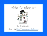 Winter Syllable Count