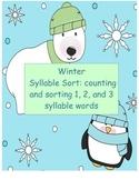 Winter Syllable Sort