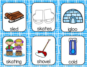 Winter Syllables