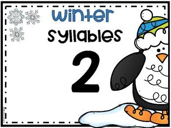 Winter Syllables