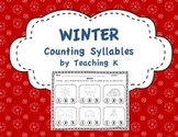 Winter Syllables Activity
