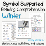 Winter - Symbol Supported Reading Comprehension for Special Ed