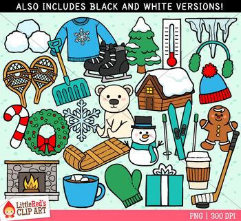 Winter Symbols Clip Art