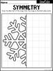 Winter Symmetry Worksheets