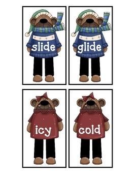 Winter Synonyms