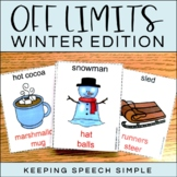 Off Limits - An Expressive Language Game Winter Edition
