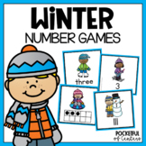 Winter Math Card Games 1-20