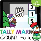 Winter Tally Marks: Counting 1-10 Kindergarten Math Google