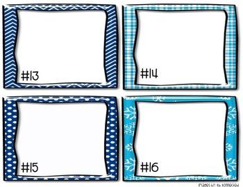 Winter Task Card Templates