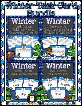 Winter Task Cards ~ Bundle