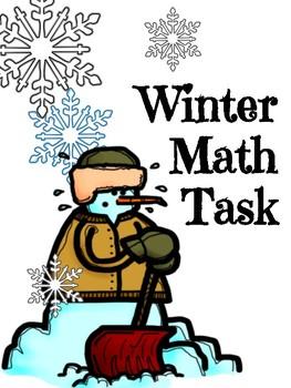 Math Center Snow Fort Contest