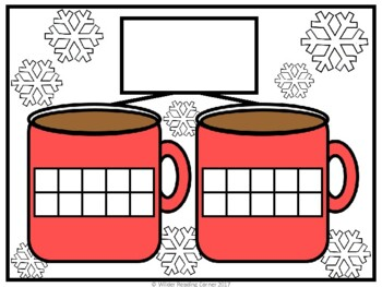 Winter Teen Number Kindergarten Math Centers- Math Activities for Numbers 11-20