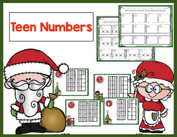 Winter Teen Numbers