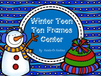 Winter Teen Ten Frames