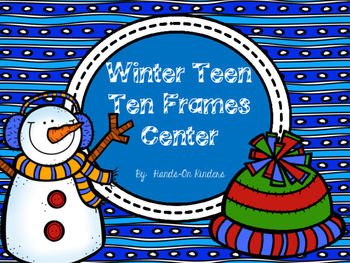 Winter Teen Ten Frames