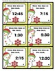 Telling Time Task Cards | Telling Time to the Nearest 5 Minutes Game 1st 2nd 3rd