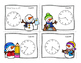 Winter Telling Time SCOOT - Time to the Minute and Time to