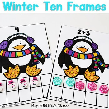 Winter Ten Frame