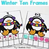 Winter Ten Frame