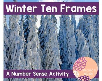 Winter Ten Frame- A Number Sense Activity