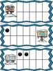 Winter Ten Frame Cards: Frozen Signs II