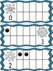 Winter Ten Frame Cards: Snowflakes