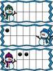 Winter Ten Frame Cards: Snowmen