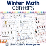 Winter Ten Frame Clip Cards 1-10: Differentiated Math Centers