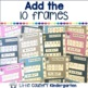Ten Frames 11-20: Differentiated Winter Clip Cards