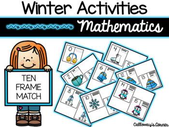 Winter Ten Frame Match