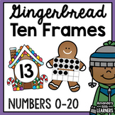 Winter Ten Frame Matching