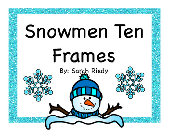 Winter Ten Frame Posters 0-20