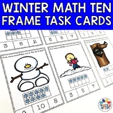 Winter Ten Frame Task Cards