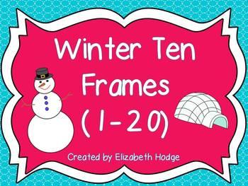 Winter Ten Frames (1-20)