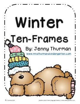 Winter Ten Frames