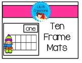 Winter Ten Frames - Assessment Tool