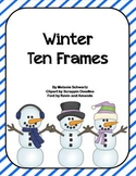 Winter Ten Frames Fun