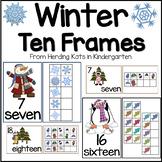 Winter Activities: Ten Frames
