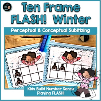 Winter Ten Frame Flash
